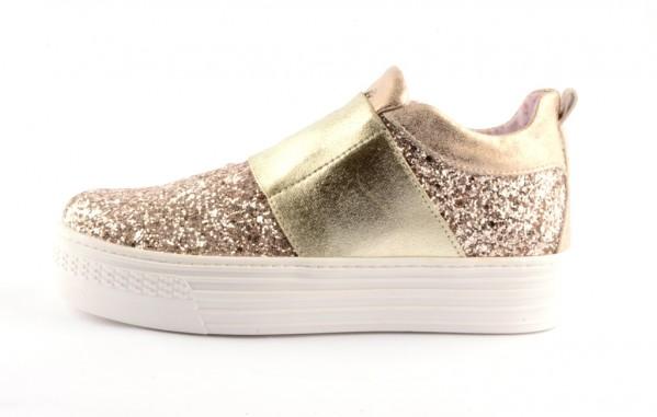 the latest e8fe5 85667 Pipedo Primigi PSA 7196 Plateau Sneaker gold