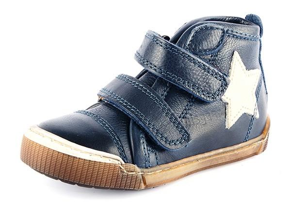 Bisgaard 40704 Leder Sneaker High mit dem Stern