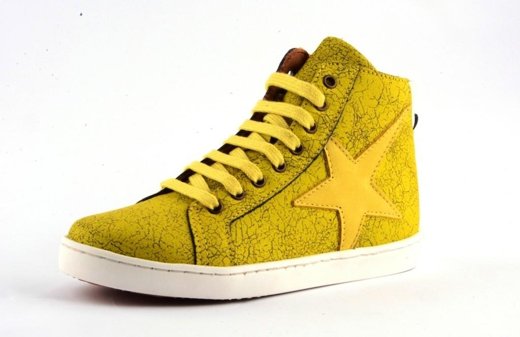 Bisgaard 31804 Sneaker mit Reissverschluss und Stern Effect