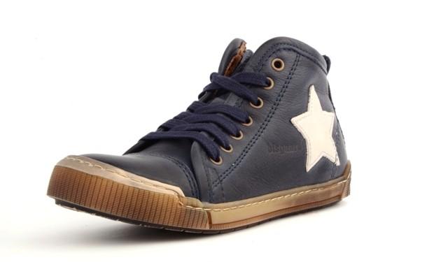 Bisgaard 30704 Halbschuhe Sneaker mit seitlichem Reißverschluss