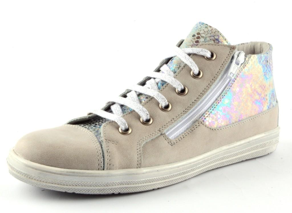 Däumling Juanita Mädchen Halbschuhe Leder Sneaker