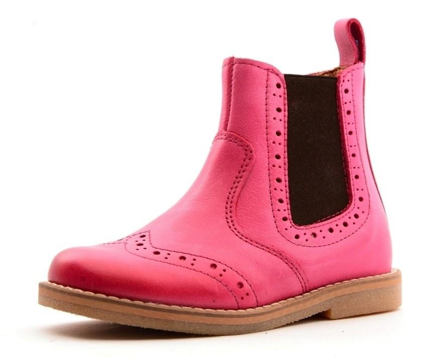 Froddo Budapester Chelsea Boot Halbstiefel pink