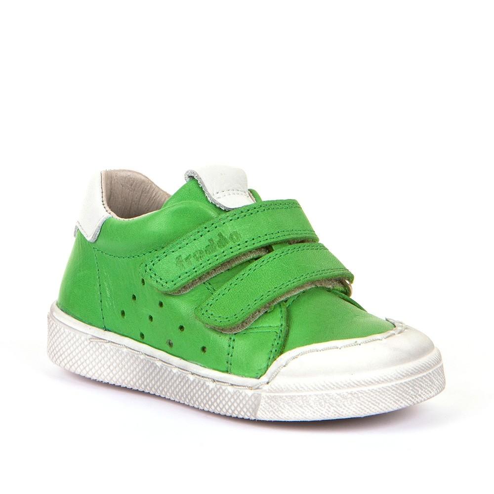 Froddo Leder Sneaker Halbschuhe mit Klettverschluss