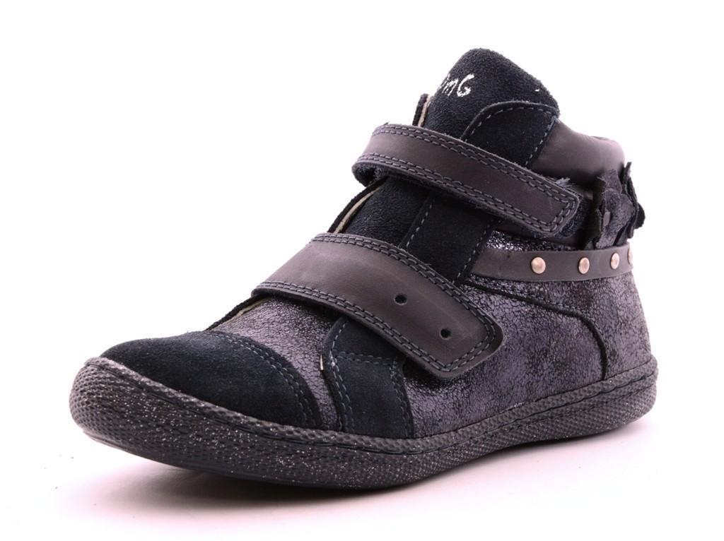 Primigi PTF 8138 Mädchen Leder Sneaker Halbschuhe