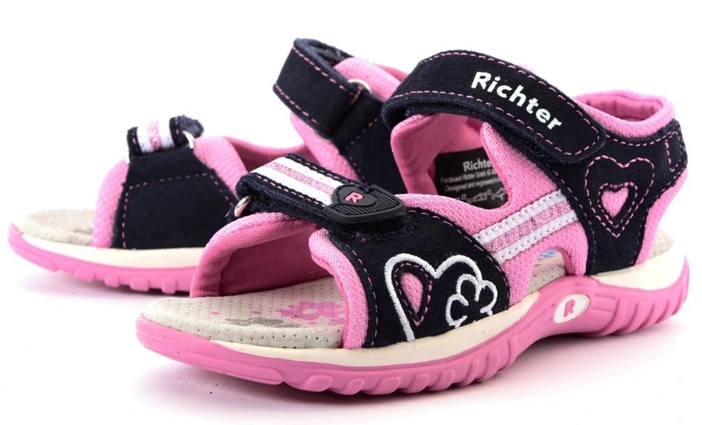 Richter 5106 Outdoor Sandale mit Neopren