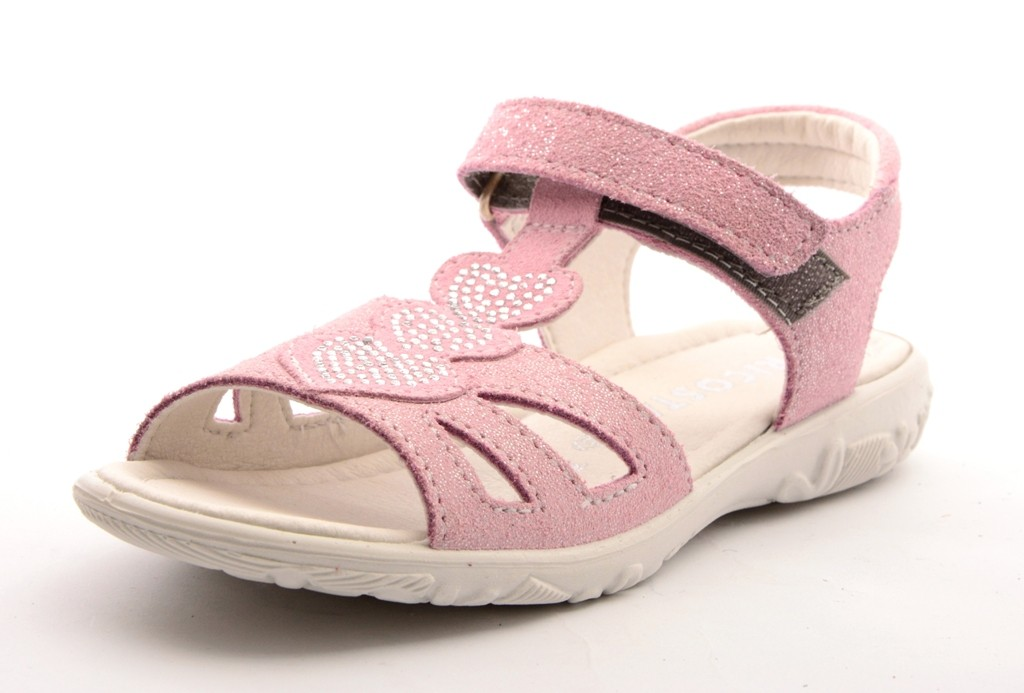 Ricosta GINA Mädchen Leder Sandale rosa