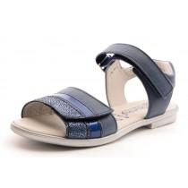 Däumling ROYA Mädchen Leder Klett Sandale