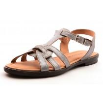 Ricosta BIRTE Mädchen Leder Sandale silber-grau