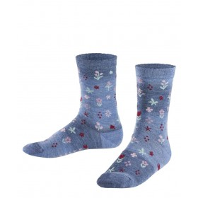 FALKE Denim Flower Kinder Socken