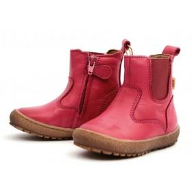 Bisgaard 60319 Winterstiefel Chelsea Boot pink mit Tex/Wolle Lauflernschuhe
