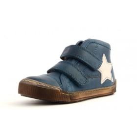 Bisgaard 40704 Halbschuh Sneaker hoch mit Klettverschluss