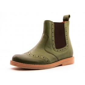 Froddo Budapester Chelsea Boot Halbstiefel grün