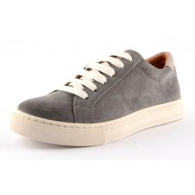 Froddo Teen Leder Sneaker Halbschuhe grau