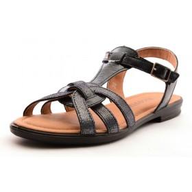 Ricosta DAVONA Mädchen Leder Sandale dunkelblau